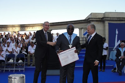 Joaquim Barbosa  recebe Honoris Causa  Universidade Hebraica de Jerusalém