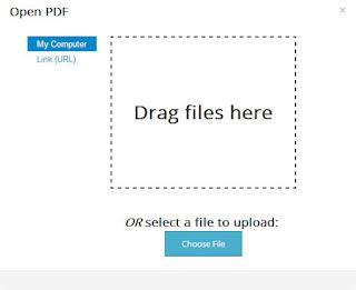 открыть PDF-документ с компьютера или по ссылке из сети Интернет