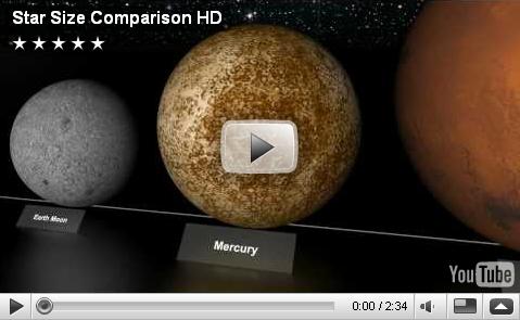 star scale comparison - photo #25
