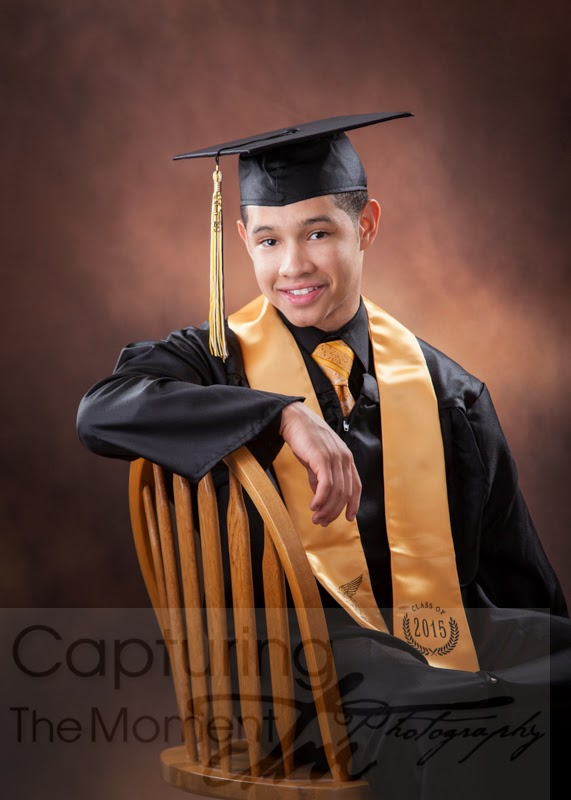 Capturing The Moment Photography: Ithamar\'s Cap & Gown, Senior Shirt ...