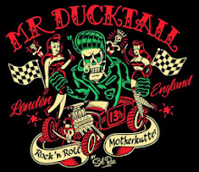 Mr. DUCKTAIL • R'n'R MotherKutter • London England.