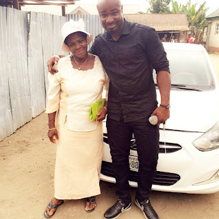 Singer Harrysong Shares Picture Of Grandmother Who He Claimed Sold Wrappers To Support Him