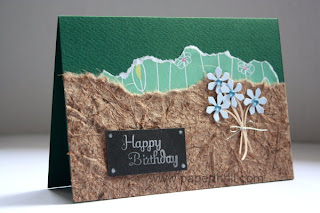 Handmade Flower bouquet birthday cards