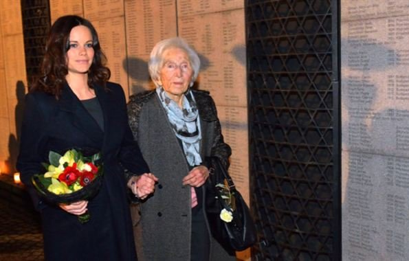Princess Sofya of Sweden attended a commemoration ceremony at Stockholm Synagogue, which is organized in connection with Holocaust Memorial Day