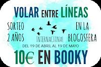 Sorteo: 10€ en booky