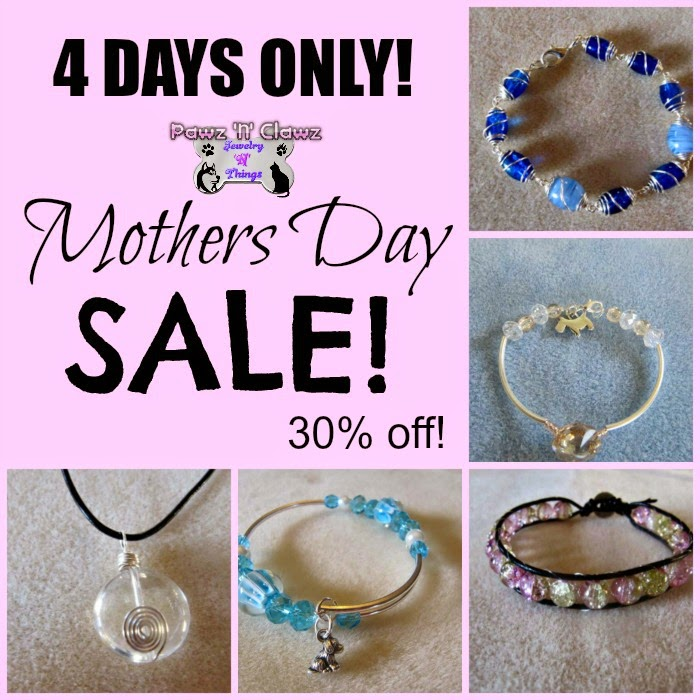 30% off mothers day jewelry sale!