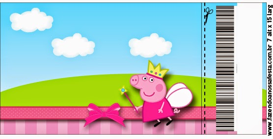 Peppa Pig Fairy: Free Printable Invitations. | Is it for ...