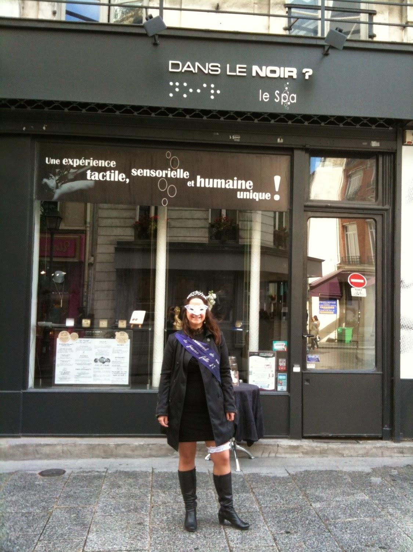 Ange 39 s blog charpe evjf enterrement de vie de jeune fille for Dans ke noir