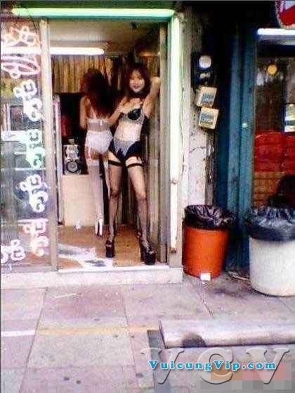 Hình ảnh gái mại dâm ở Trung Quốc
