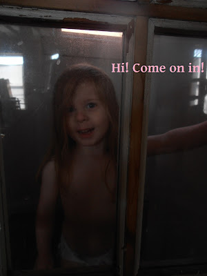 Clara welcomes you to the pantry
