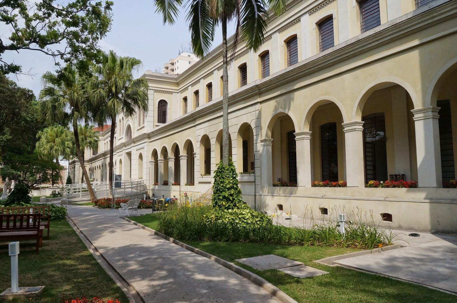 Prédio da antiga Hospedaria dos Imigrantes, hoje, sede do Museu da Imigração do Estado de São Paulo