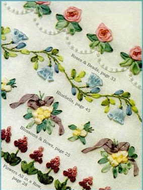 NeedleWorks Butterfly Silk Ribbon Embroidery Borders
