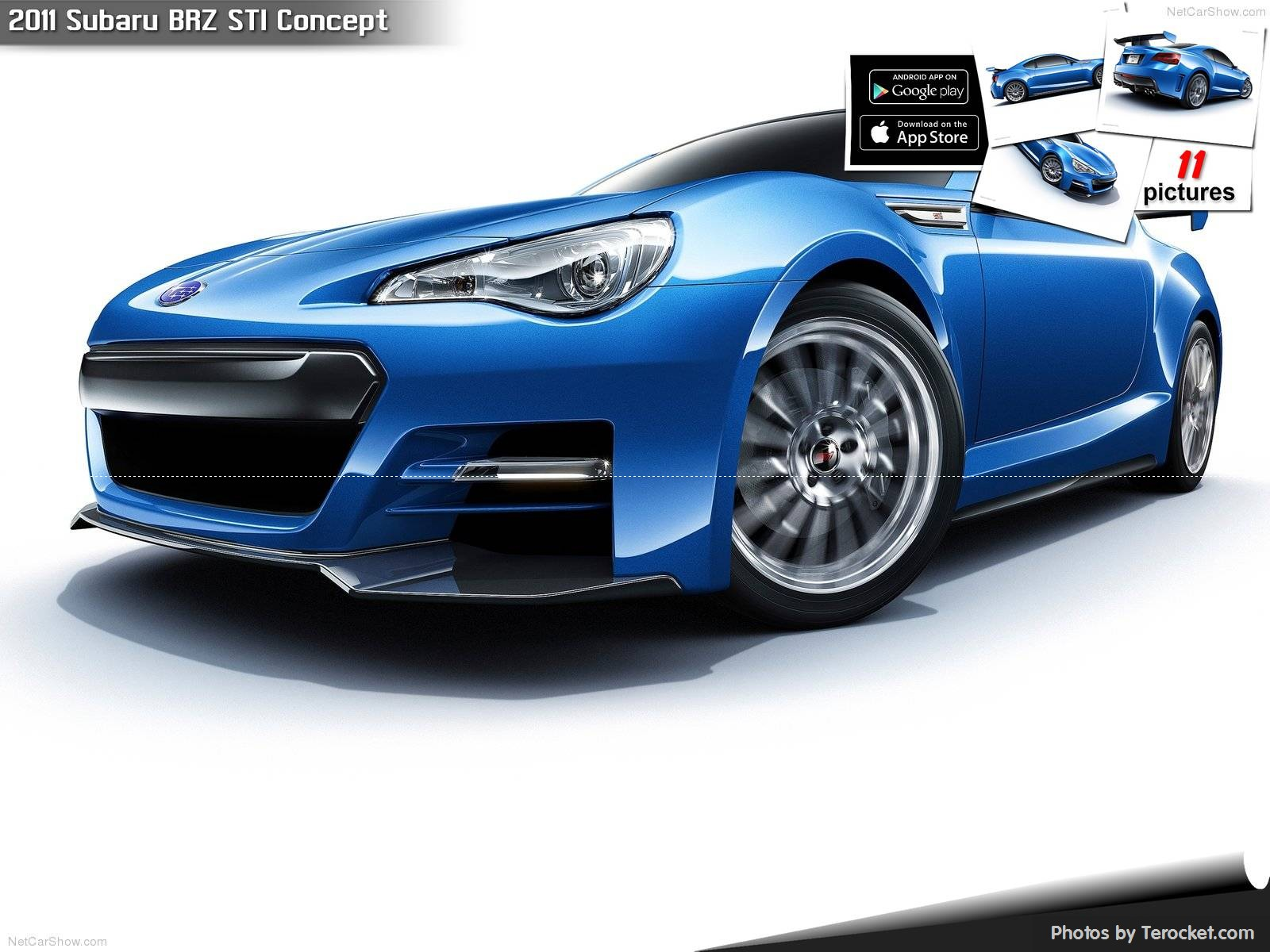 Hình ảnh xe ô tô Subaru BRZ STI Concept 2011 & nội ngoại thất