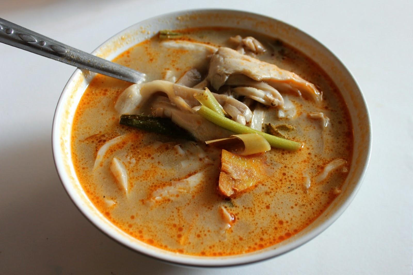 tom kha hed vegetarian thai food