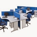 Kantor Partisi Modera Workstation 5-5 Series