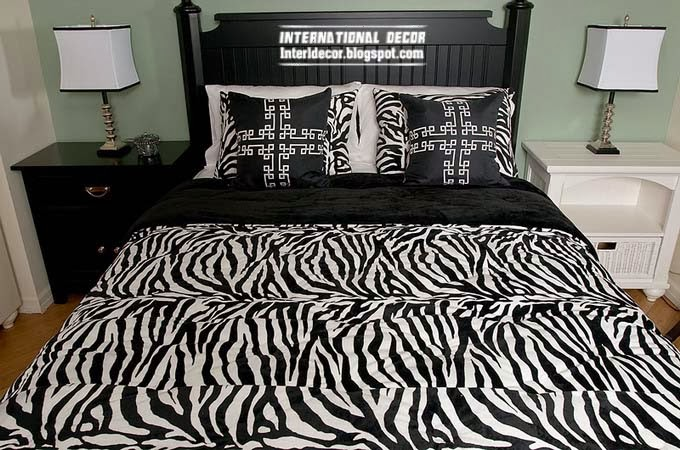 the best zebra print decor ideas for interior designs. Black Bedroom Furniture Sets. Home Design Ideas