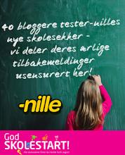 Frøkna testa skolesekken til Nille