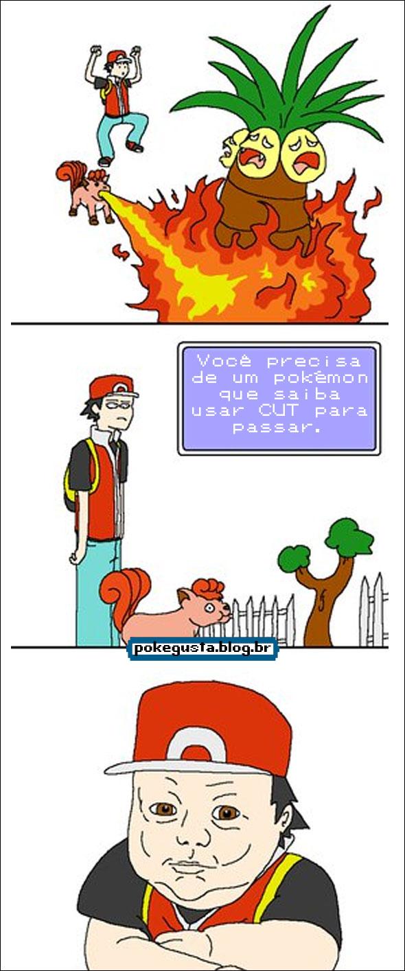 tirinha pokemon