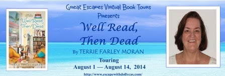 TOUR: Well Read Then Dead, by Terrie Farley Moran – Interview & Review