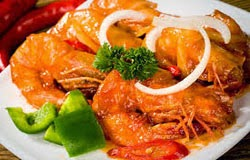 Resep Praktis dan mudah membuat masakan seafood udang goreng mentega
