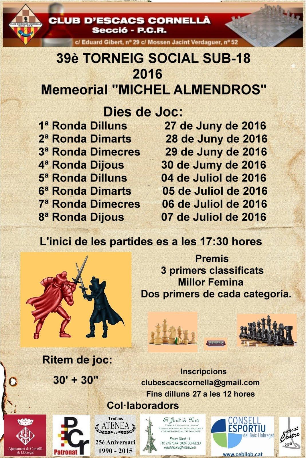 Memorial Michel Almendros