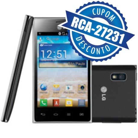 Cupom Efácil - Smartphone LG Optimus L5 E615F Dual Chip 3G