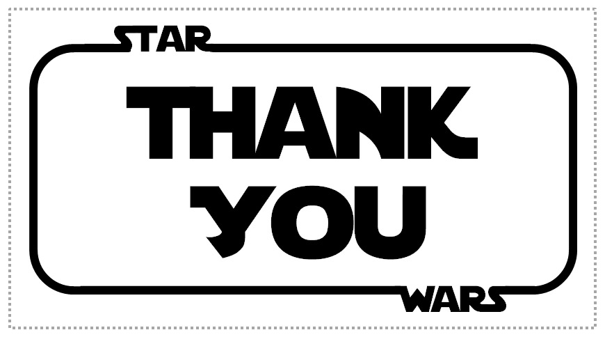 Superb image within star wars thank you cards printable free
