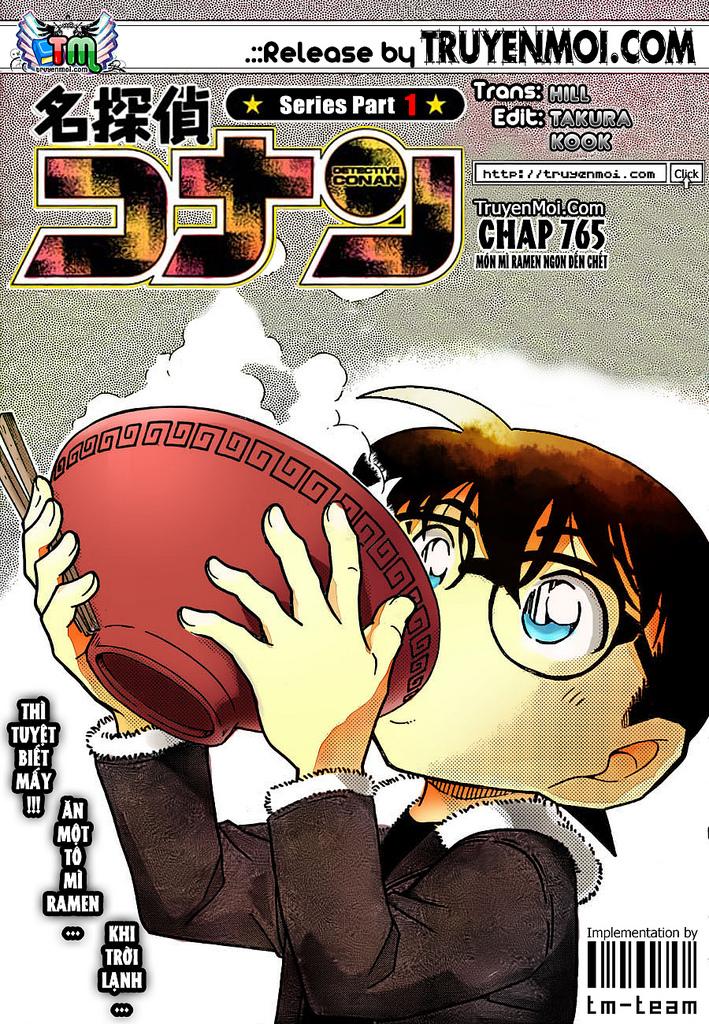 Thám Tử Lừng Danh Conan - Chapter 765 - Pic 1