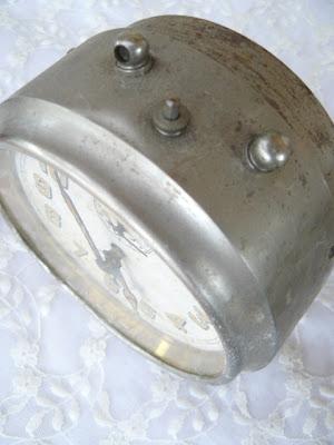 Spina natale buone feste metallo grigio bianco eliminato 77cm SHABBY