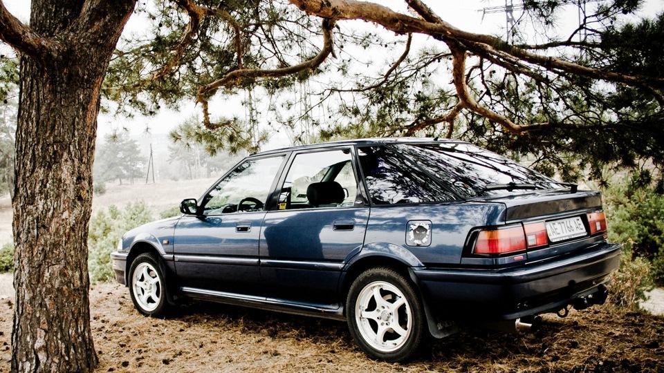 Honda Concerto, tył, wygląd, design, samochody z lat 90