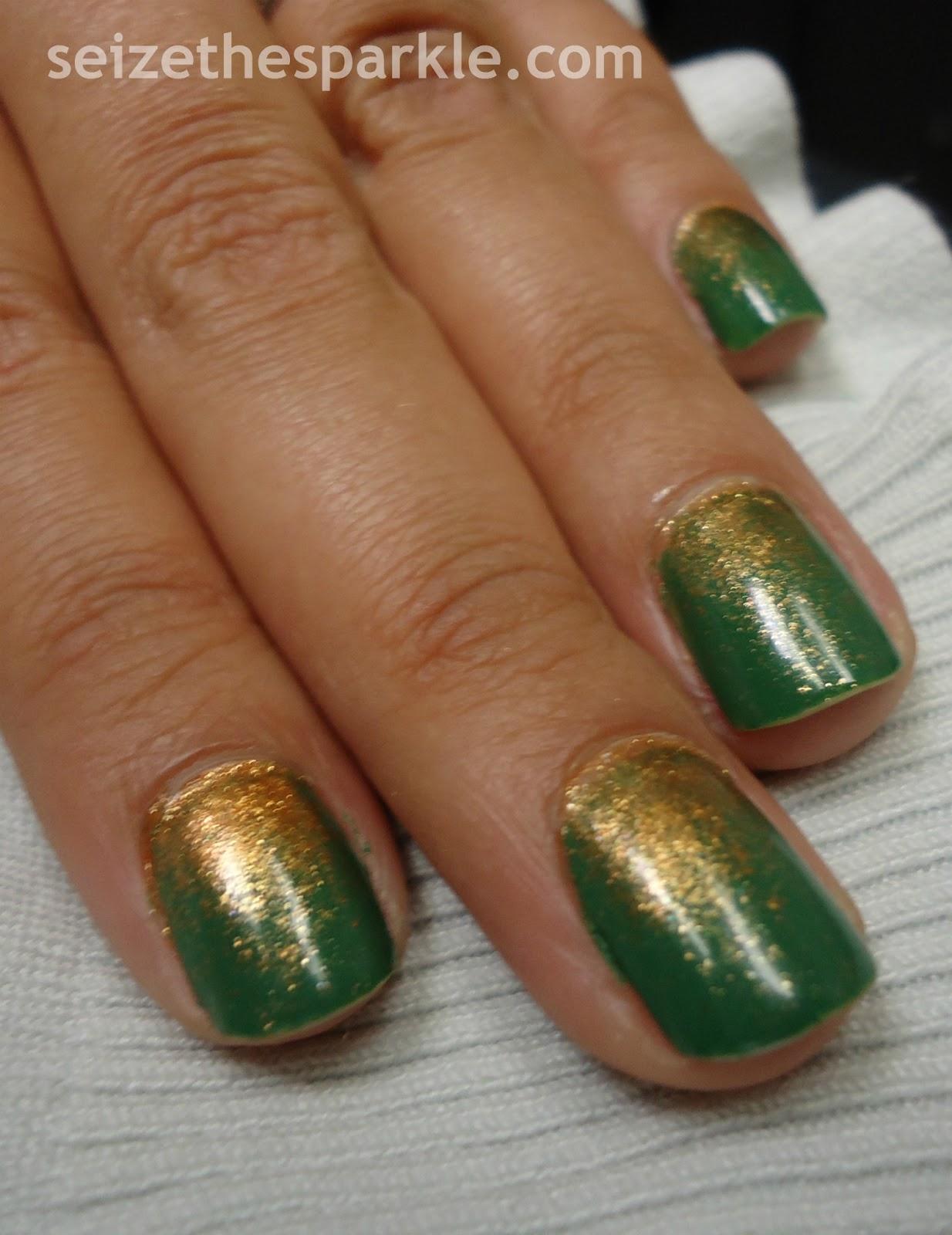 Pigment Gradient Manicure