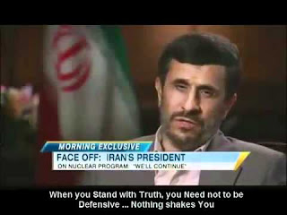 Quotes Of Mahmoud Ahmadinejad about truth