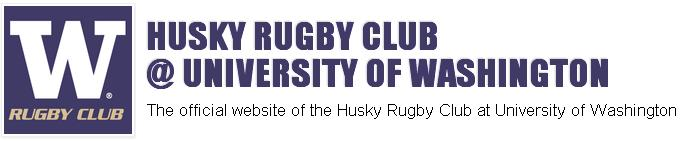 HUSKY RUGBY CLUB @ UNIVERSITY OF WASHINGTON