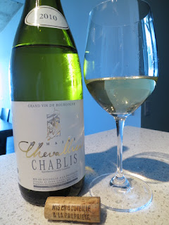 Domaine Chevallier Chablis 2010 from AC, Burgundy, France (89 pts)