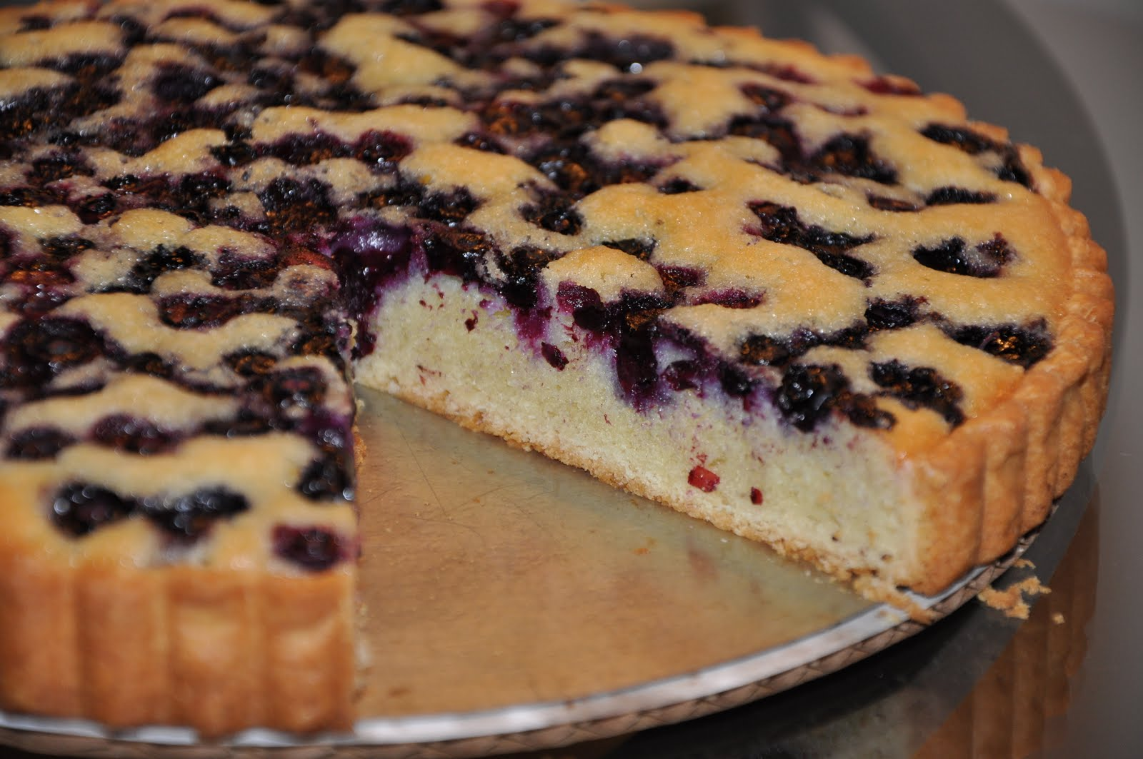 Blueberry Financier