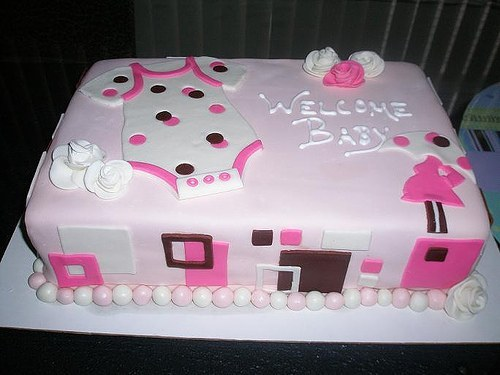 Cake Ideas For A Baby Girl : Baby Shower Checklist : Handmade Baby Shower Ideas for Girls
