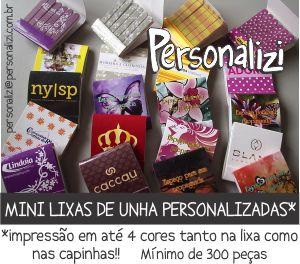 Mini Lixas Personalizadas!!
