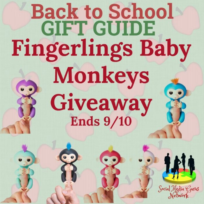 Fingerlings Baby Monkeys Giveaway