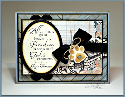 Our Daily Bread Designs Stamp set: Never Forgotten, Our Daily Bread Designs Custom Dies; Cats and Dogs, Clouds and Raindrops, Ovals, Stitched Ovals