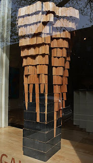 Wooden Sculpture at the Boyd Gallery