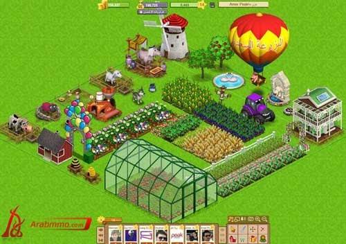 تحميل لعبة المزرعة السعيدة على الفيس بوك