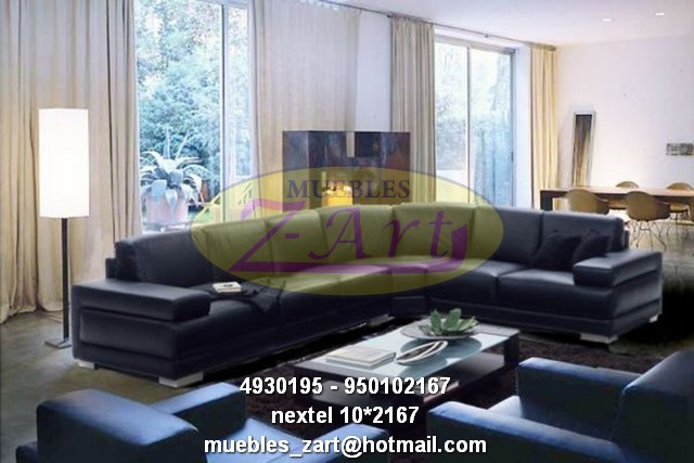 Muebles modernos salas lineales for Muebles de sala modernos