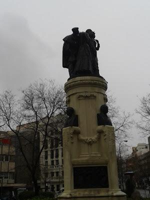 Los ´chisperos´ (Monumento a los saineteros)