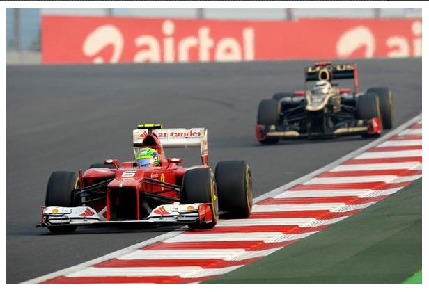 2012 Formula 1 Airtel Indian Grand Prix 3