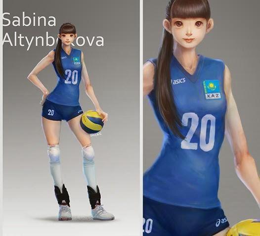Kumpulan Meme Sabina Altynbekova