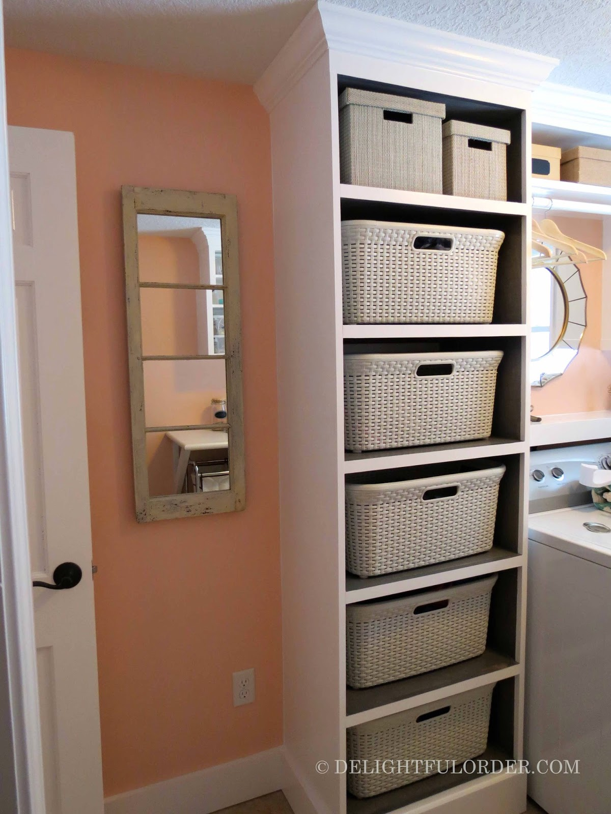 And Here Are The Before After Side By Photou002639s Of This Laundry Room