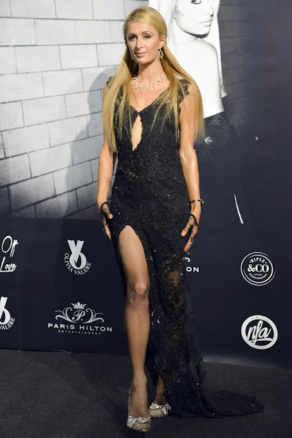 Hotel Heiress, Model, Actress @ Paris Hilton At 'Olivia Valere' Disco in Marbella
