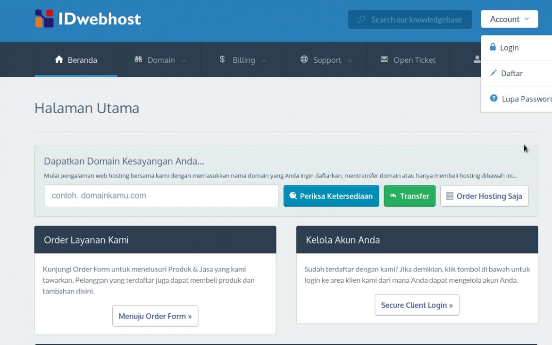 Costumasi Domain .com