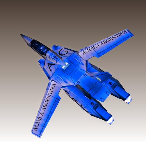 Modelo Aguila Argentina (por Devastador)