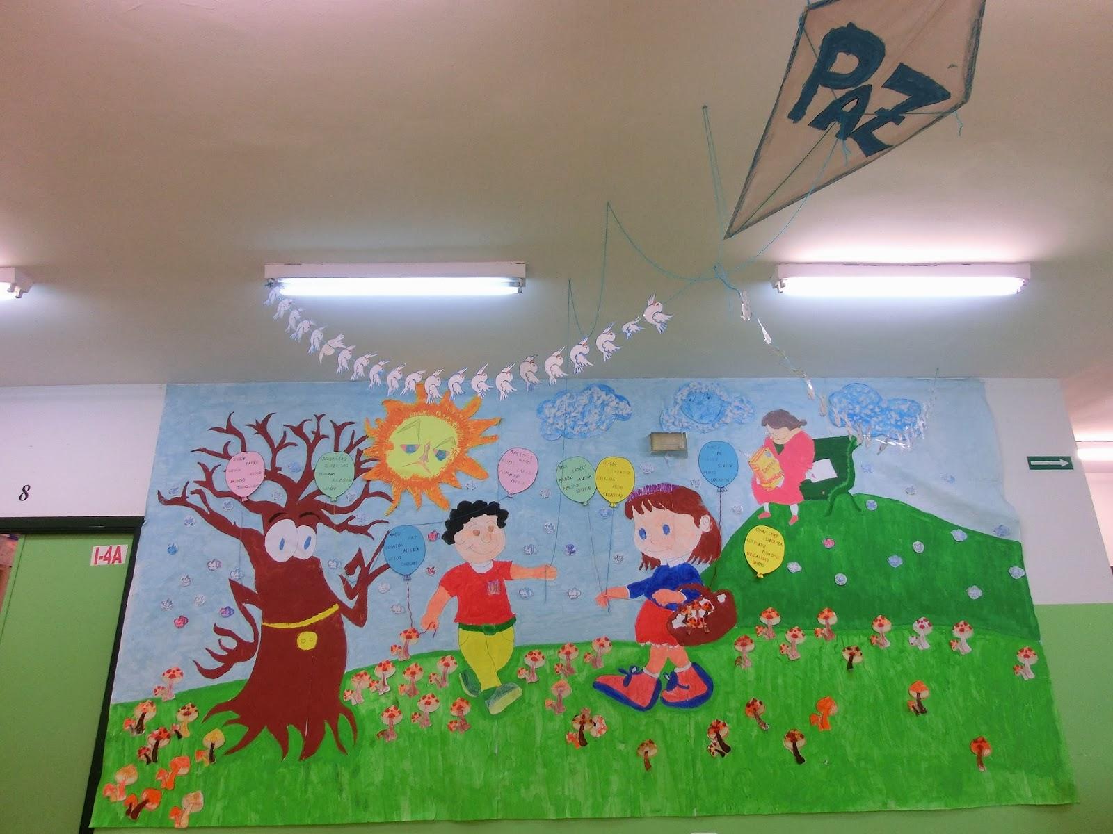 Formas de esquineras para mural profe rafa de infantil - Esquineras de pared ...